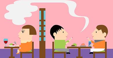 ケース3「飲食店で煙が漏れている」