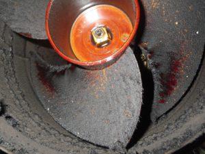 喫煙室の排気のダクトファン